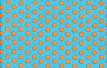 Spots Turquoise  1/2 Metre Length