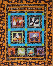 Halloween Picnic Quilt