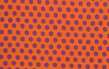 KF Classics - Spot - Orange  1/2 Metre Length