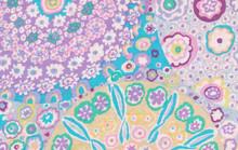 KF Classics - Millefiore - Lilac  1/2 Metre Length