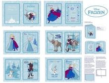 Frozen Soft Book Blue