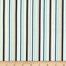 Riley Blake Stripes Blue 1/2 Metre Length