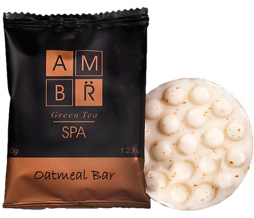 AMBR SPA oatmeal soap (case pack of 100)