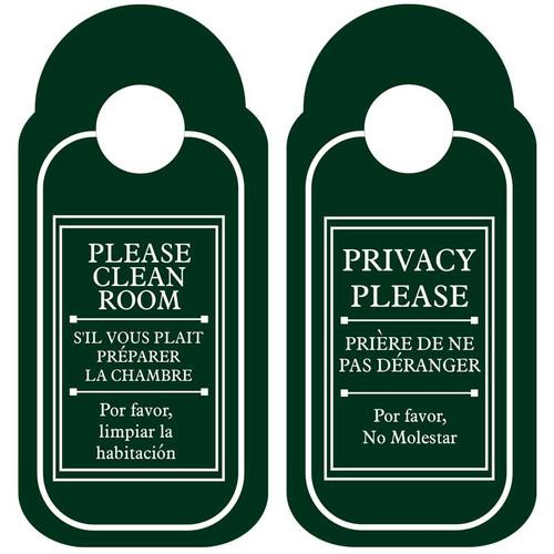 Door Sign (lever handle) (each)
