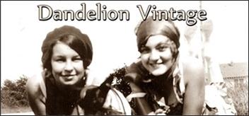 Dandelion Vintage