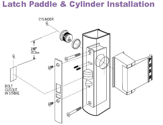 Adams Rite 4510 Installation Instructions