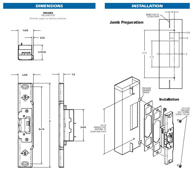 Folger Adam Electric Strike Wiring Diagram Rutherford