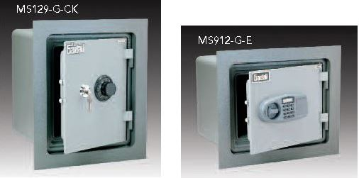 we have four models of insulated wall safes they come with a 2u201d flange and bolt down hardware to make easier safes are horizontal or vertical