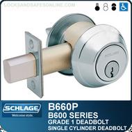 Schlage B560pf Deadbolt Cylinder X Thumbturn