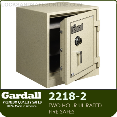 2 Hour UL Rated Fire Safes | Gardall 2218-2