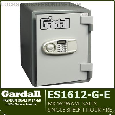 1hr Microwave Fire Safes Gardall Ss1612 G Ck Es1612 G E