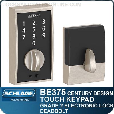 schlage be375 cen century style schlage touch keypad. Black Bedroom Furniture Sets. Home Design Ideas