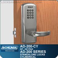 Schlage AD-200-CY - Standalone Cylindrical Locks - Keypad