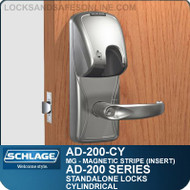 Schlage AD-200-CY - Standalone Cylindrical Locks - Magnetic Stripe (Insert)
