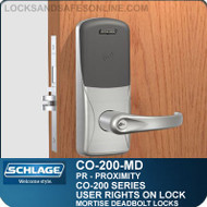 Standalone Proximity Locks | Schlage CO-200-Mortise Deadbolt