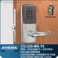 Mortise Proximity & Keypad Locks | Schlage CO-220-MS-75-PRK | Classroom Lockdown Solution