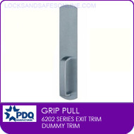 PDQ 6202 Grip Pull Trim | Dummy Trim | For PDQ 6202 Exit Devices