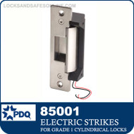 Electric Strike for PDQ Grade 1 Cylindrical Locks | PDQ 85001