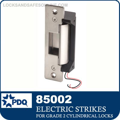 Electric Strike for PDQ Grade 2 Cylindrical Locks | PDQ 85002
