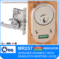 Intruder Deadbolt with Deadlatch Mortise Lock | PDQ MR257
