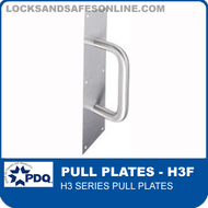 Commercial Pull Plates | PDQ H3 Series Pull Plates (H3F)