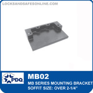 "Mounting Bracket - Soffit over 2-1/4"" (Included as pair) 