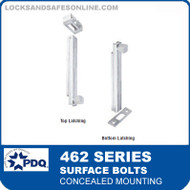 Surface Bolts - Concealed Mounting | PDQ 462 Series