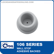 PDQ 106 Series Wall Stop - Adhesive Backed