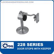 PDQ 228 Series Door Stops with Keeper