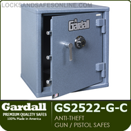 Anti-Theft Pistol Safe with Group II Combo Lock   Gardall GS2522-G-C