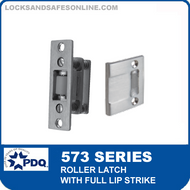 PDQ 573 Series Roller Latch with Full Lip Strike