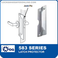 """PDQ 583 Series Latch Protector with 3-3/8"""" DIA Notched"""