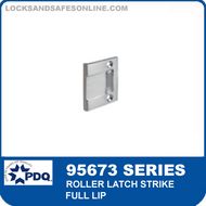 PDQ 95673 Series Roller Latch Strike - Full Lip