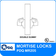 Non-Cylinder Double Dummy Mortise Locks | PDQ MR205 | F Sectional Trim