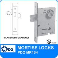 Classroom Deadbolts Mortise Locks | PDQ MR134
