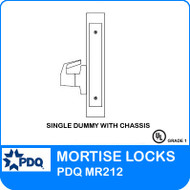 Single Dummy Trim with Chassis | PDQ MR212 | J Series Sectional Trim