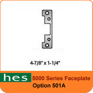 HES 501A Option - 5000 Series Faceplate