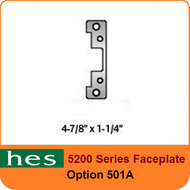 HES 5200 Series Faceplate - 501A Option