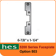 HES 5200 Series Faceplate - 503 Option