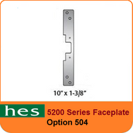 HES 5200 Series Faceplate - 504 Option