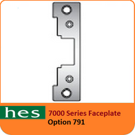 HES 791 Option - 7000 Series Faceplate