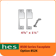 HES 852K Option - 8500 Series Faceplate