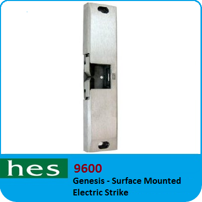 Hes 9600 Genesis Surface Mounted Electric Strike