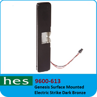 HES 9600-613 - Genesis Surface Mounted Electric Strike Dark Bronze