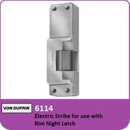 Von Duprin 6114 - Electric Strike for use with Rim Night Latch