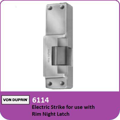 Von Duprin 6114 Electric Strike