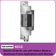 Von Duprin 6212 - Electric Strike for use with Hollow Metal or Aluminum Frame Applications with Mortise or Cylindrical Locks