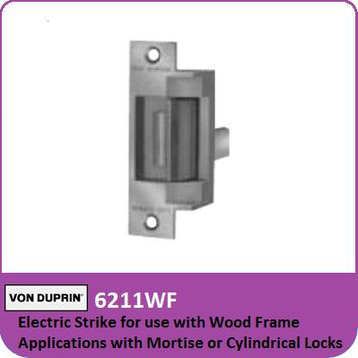 Von Duprin 6211wf Electric Strike