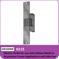 Von Duprin 6215 - Electric Strike for use with Hollow Metal or Aluminum Frame Applications with Mortise or Cylindrical Locks