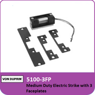 Von Duprin 5100-3FP - Medium Duty Electric Strike with 3 Faceplates